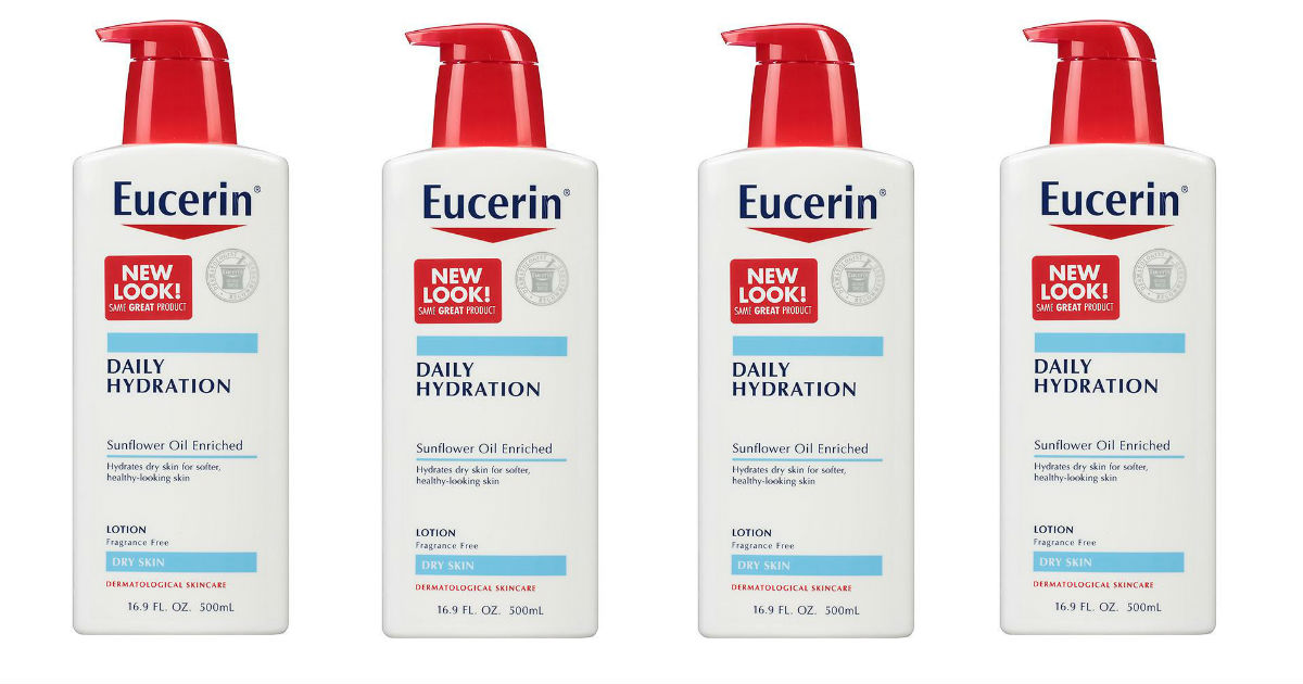 graphic relating to Eucerin Printable Coupon identified as Eucerin Entire body Lotion Just $3.99 at Emphasis (Reg. $8.49