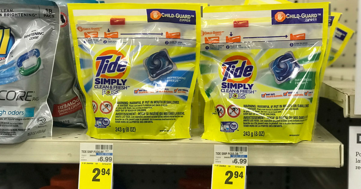 Starting September 8th - Tide Simply Pods for $0.94 at CVS