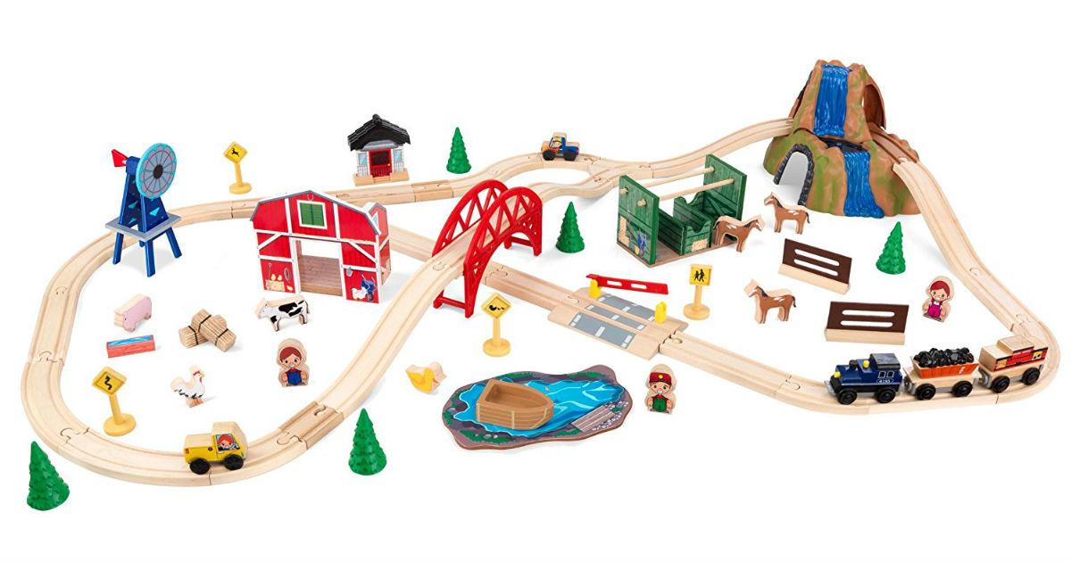 KidKraft Farm Train ONLY $30.30 (Reg. $45.24)