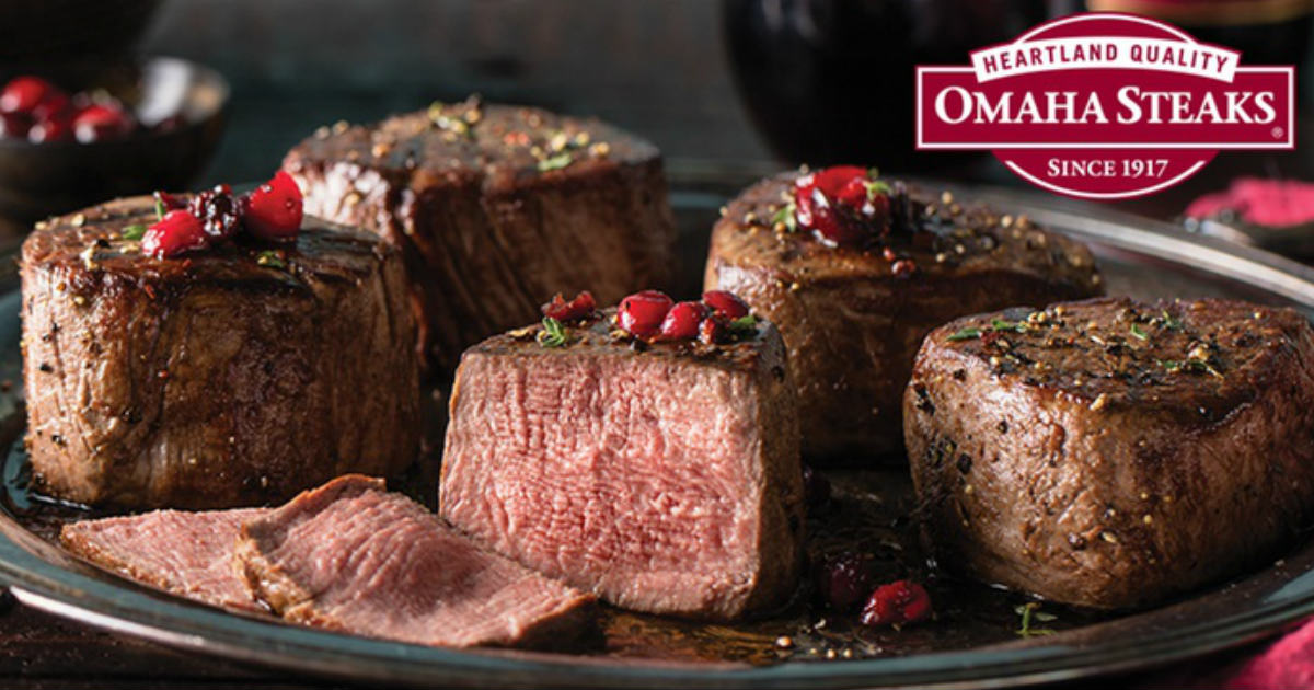 60% Off Omaha Steaks Shipped t...