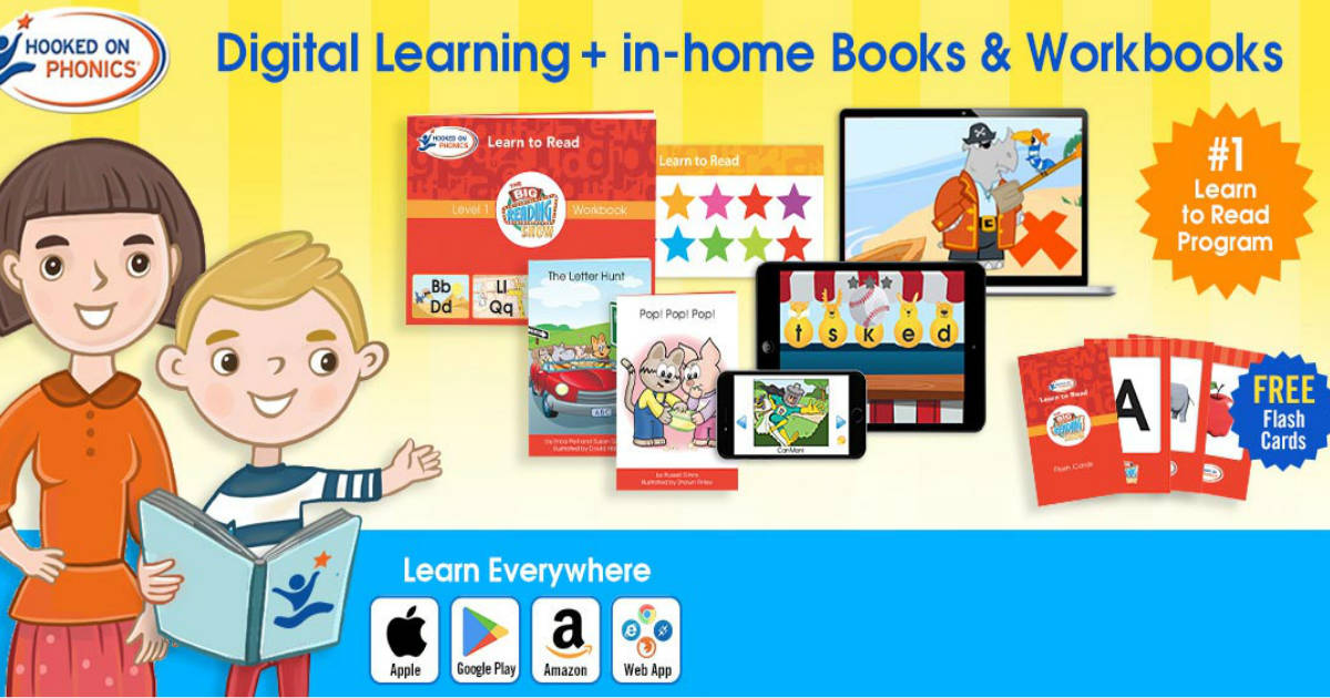 Try Hooked on Phonics for FREE