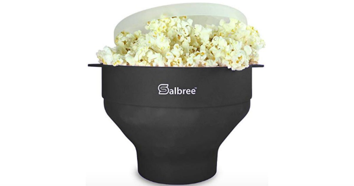 f2e4a4a6897 The Original Salbree Popcorn Maker ONLY  11.90 on Amazon - Daily ...