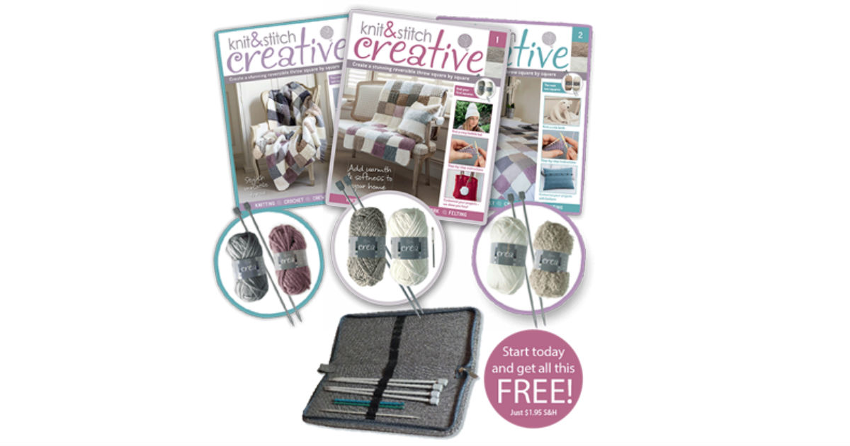FREE $40.00 Package from Knit and Stitch