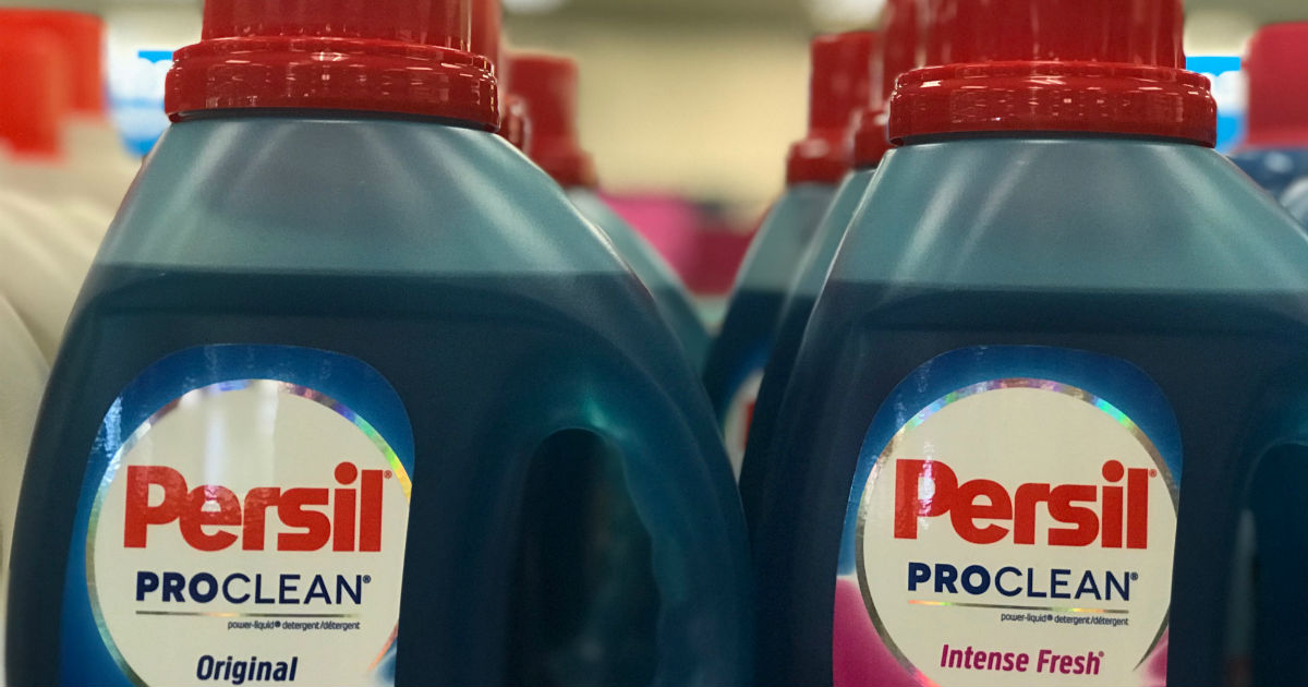 Persil Laundry Detergent at CVS for $2.94 a Bottle