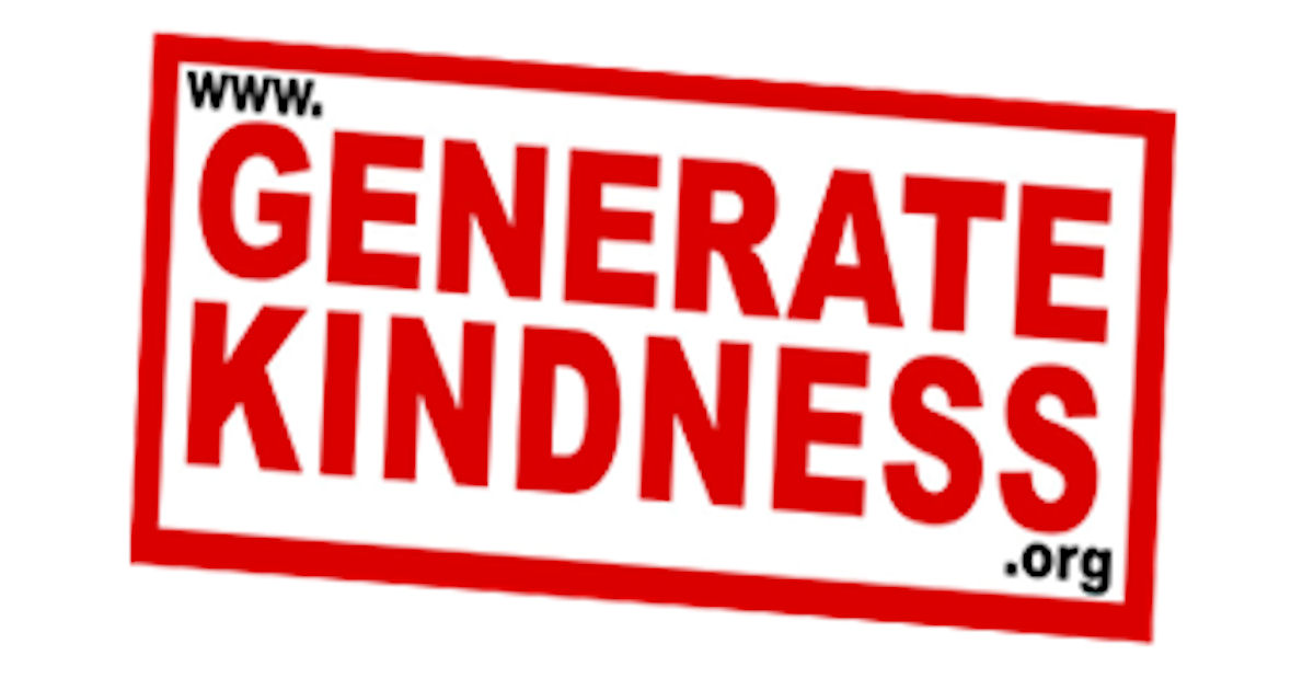 FREE Generate Kindness Sticker...