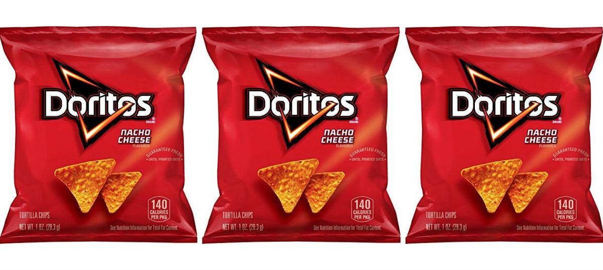 Doritos Nacho Cheese Tortilla Chips 40-Pk ONLY $7.59 Shipped