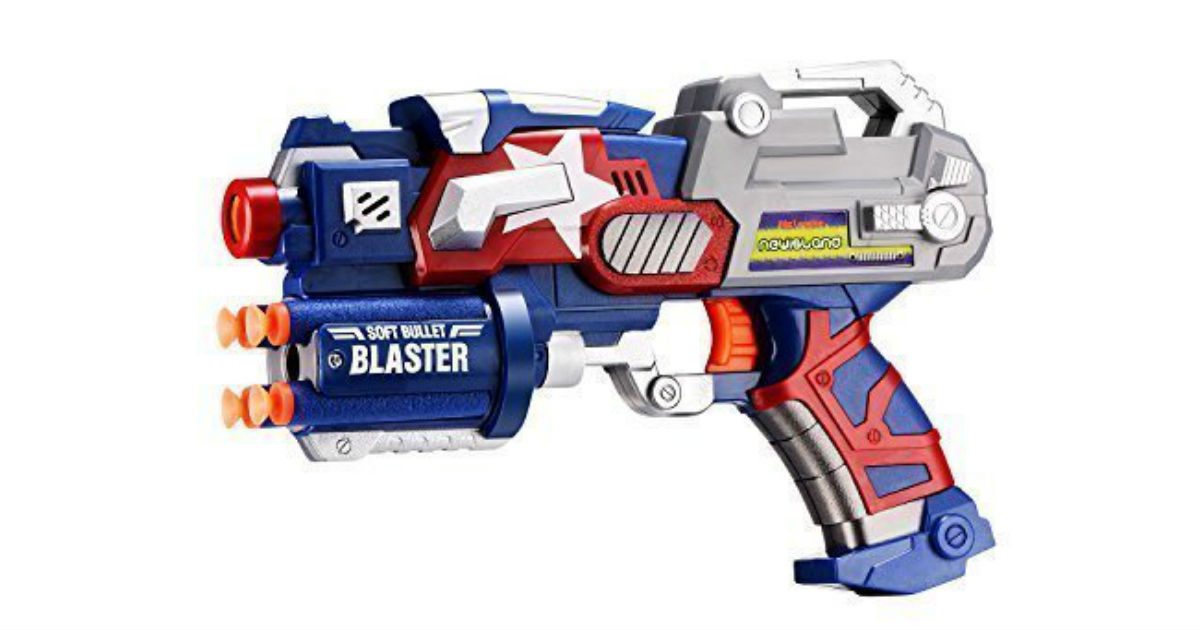 Save 44% on Big League Blaster Gun ONLY $12.79 (Reg. $23)