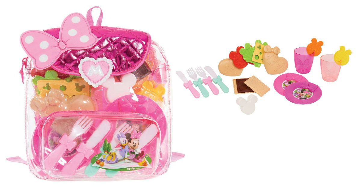Save 53% on Minnie Backpack Picnic Set ONLY $7.00 (Reg. $15)