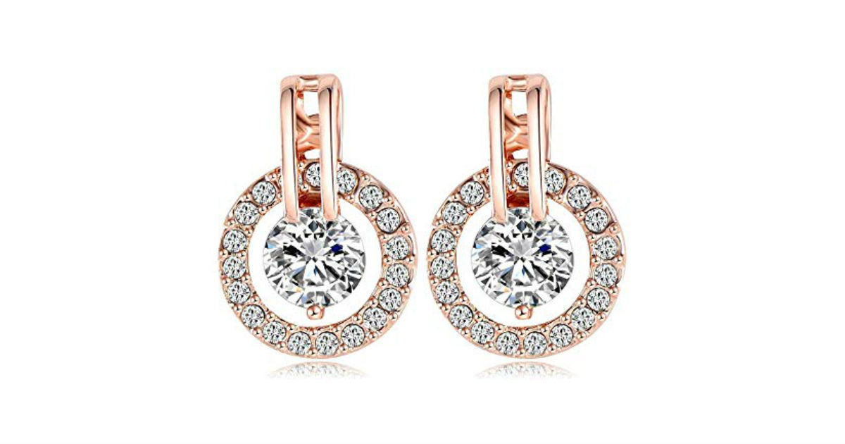 Nykkola Rose Gold Earrings on Amazon