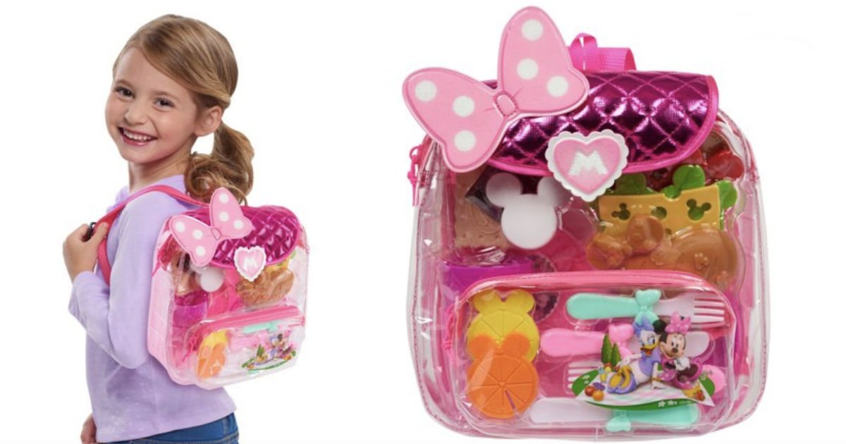 Minnie Mouse Backpack Picnic Set ONLY $7 (Reg $14.88) at Walmart