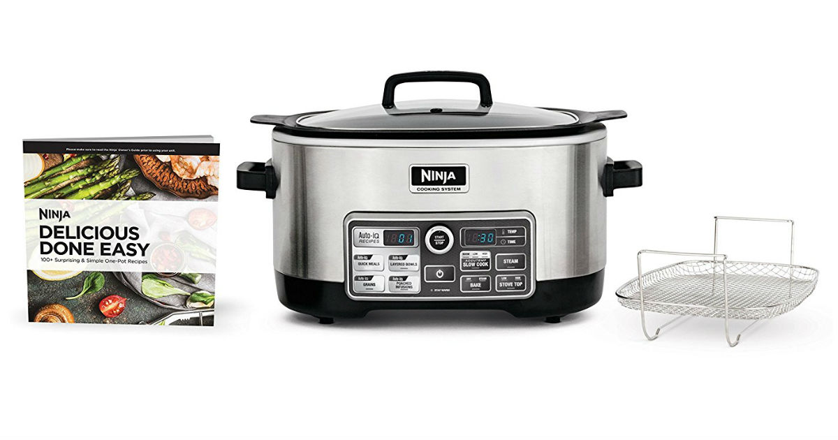 Hurry: Save 56% on Ninja Slow Cooker ONLY $65.99 (Reg. $150)