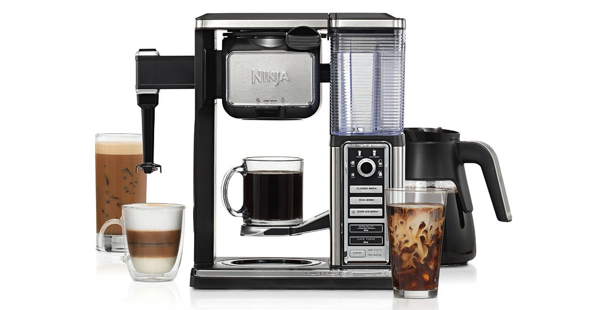 Today Only: Save 50% on Ninja Coffee Bar ONLY $99.99 (Reg. $200)