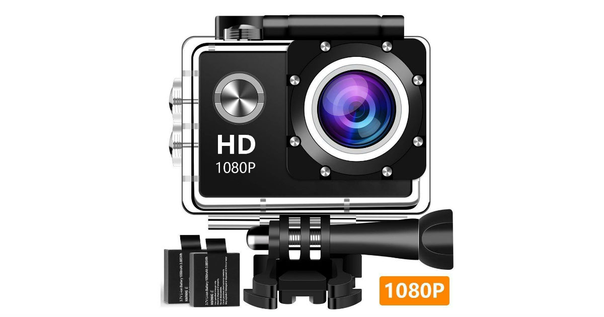 Lightning Deal: Save 78% on Dearam Underwater Camera ONLY $28.99