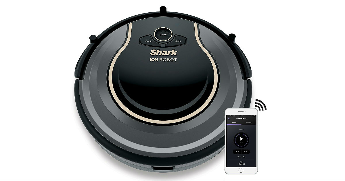 Today Only: Save $170.00 on Shark ION Robot Vacuum on Amazon