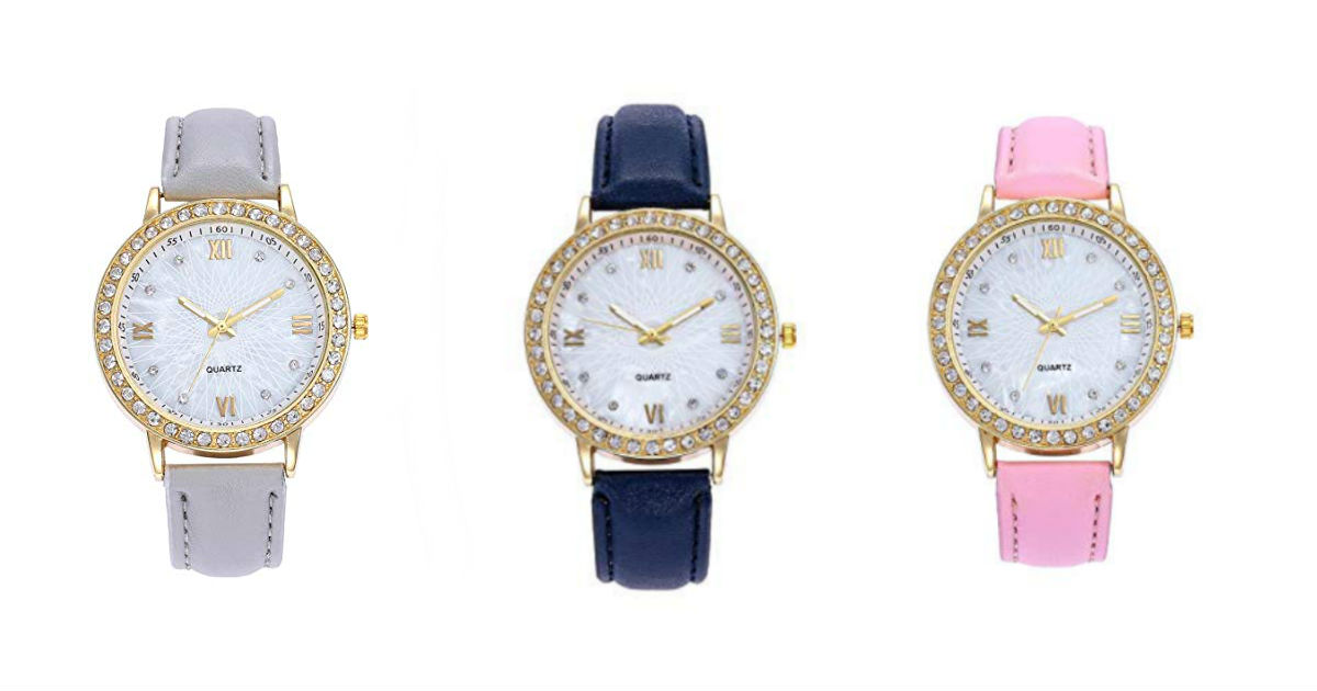 Women's Quartz Watch ONLY $4.99 Shipped on Amazon