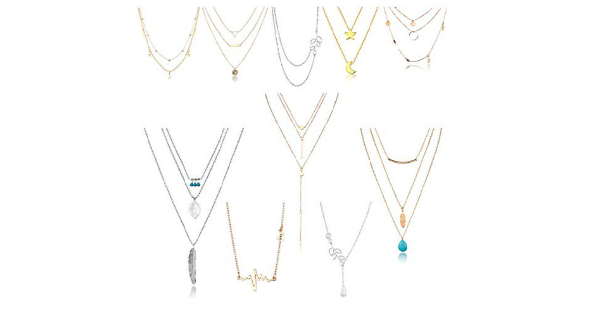 Necklace Set ONLY $1.10 Each on Amazon