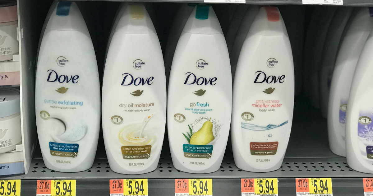 Dove Body Wash Only 3 69 At Walmart Printable Coupons