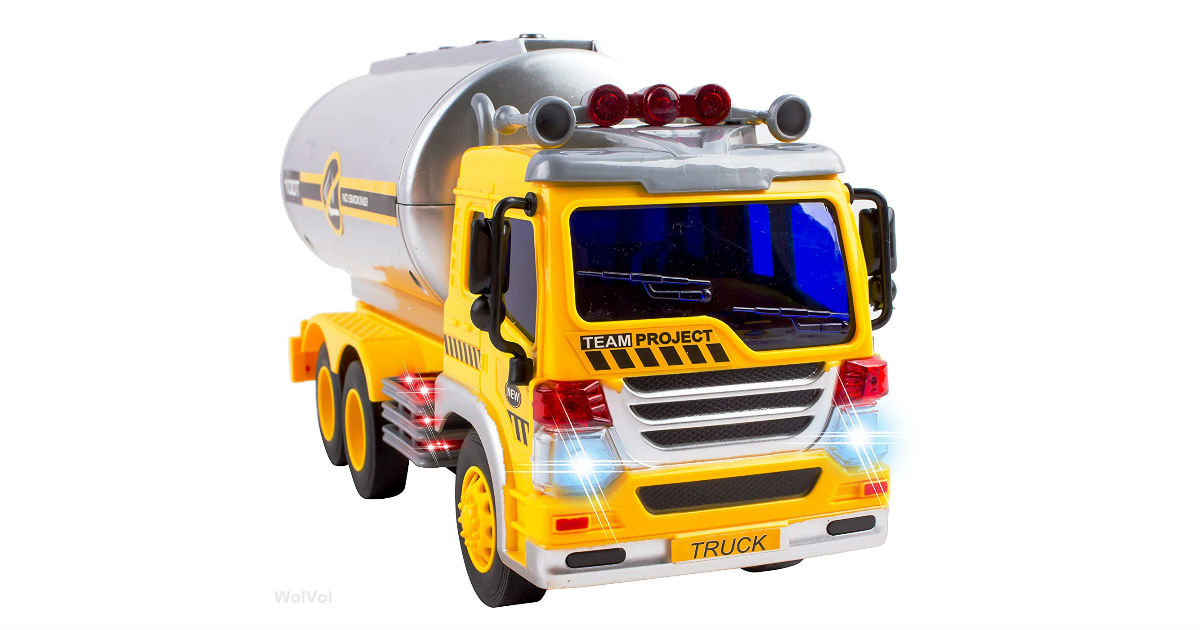 Lightning Deal: Save 53% on Oil Tanker Truck Toy ONLY $13.94