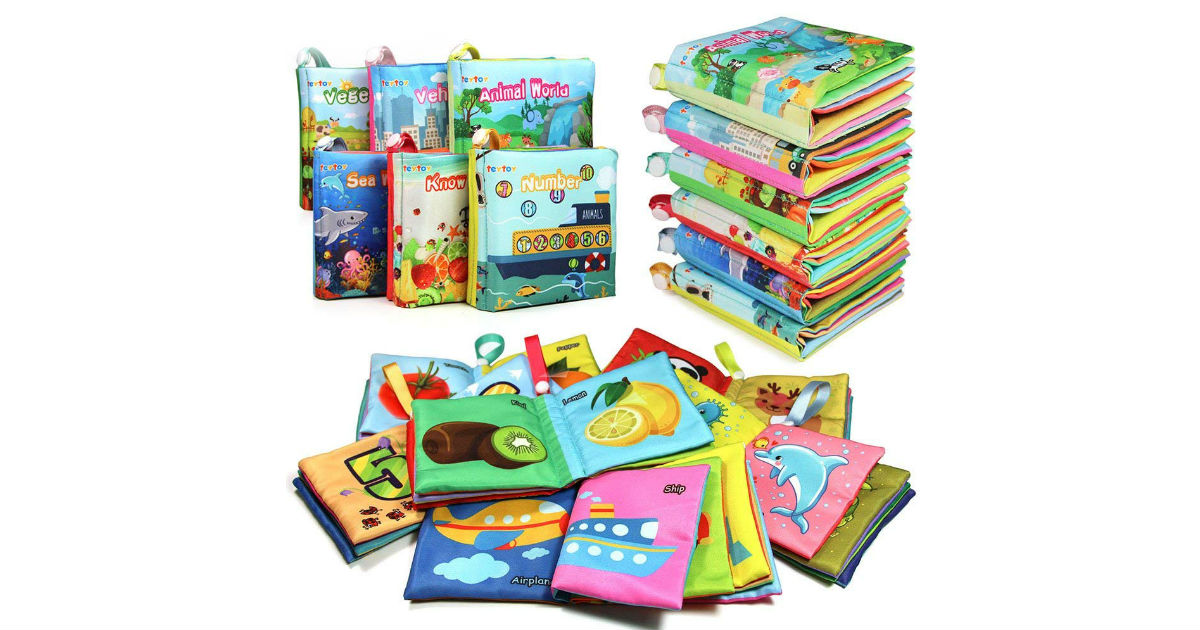 My First Soft Books 6-Pack ONLY $17.09 on Amazon (Reg. $31)