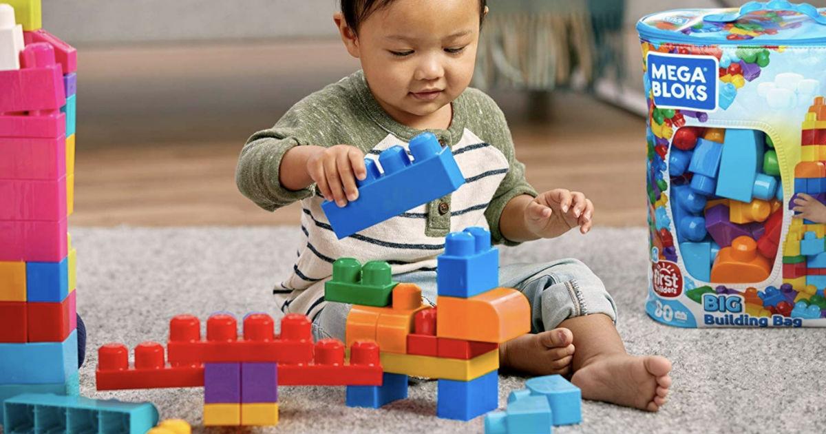Mega Bloks 80-Piece Building Set ONLY $7.49 (Reg $25) Shipped