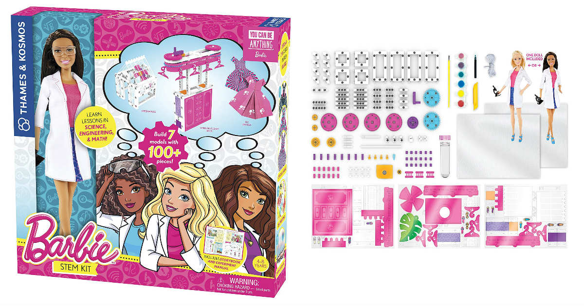 Save 47% on Barbie STEM Kit on Amazon ONLY $15.99 (Reg. $29.95)