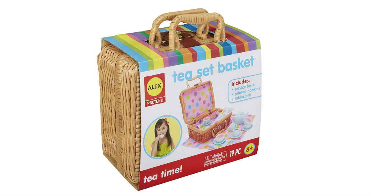 Alex Toys Tea Set Basket ONLY $17.99 on Amazon (Reg. $30.50)