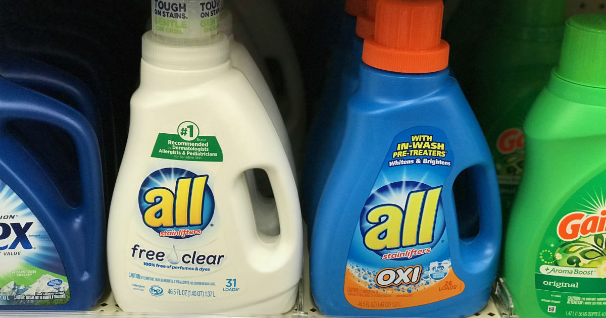 All Detergent Only $1.88 at Walgreens