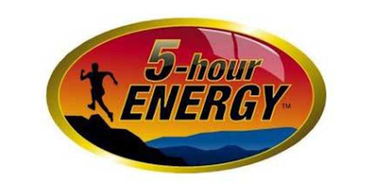 FREE 5 Hour Energy Sticker...