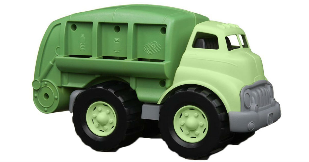 Hurry: Green Toys Recycling Truck ONLY $14.69 (Reg. $28)