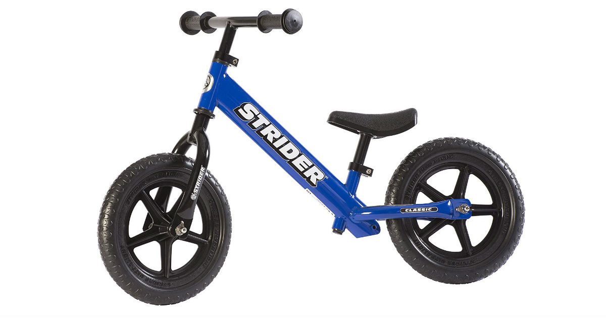 Today Only : Strider Bike as Low As $67.50 on Amazon (Reg. $99)