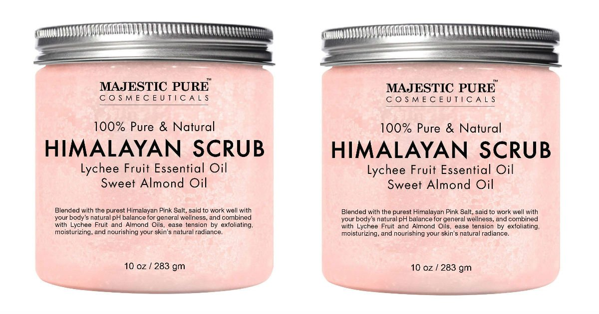 Himalayan Salt Scrub ONLY $11.