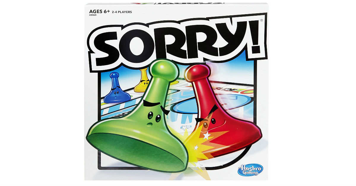 Hasbro Sorry! Game ONLY $8.77 on Amazon (Reg. $13)
