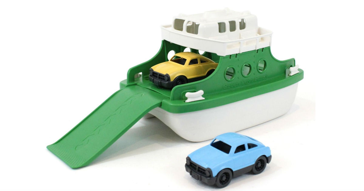 Lightning Deal: Save 47% on Green Toys Ferry ONLY $13.29