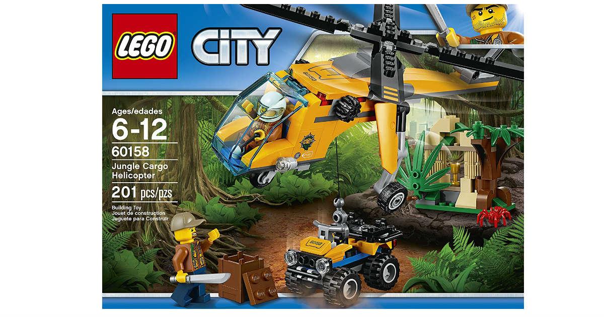 LEGO City Jungle Explorers ONLY $13.99 on Amazon (Reg. $20)
