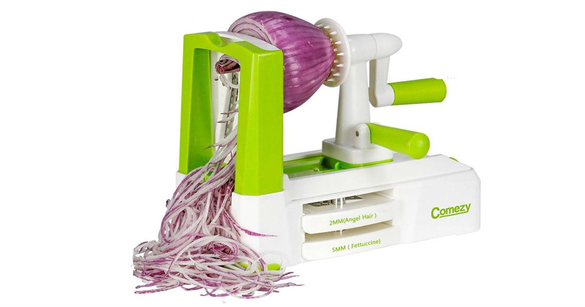 Vegetable Spiralizer ONLY $21.99 on Amazon (Reg. $40)