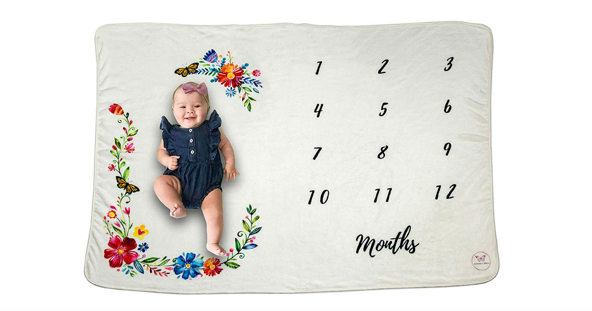 Monarch Milestone Blanket ONLY $13.45 on Amazon (Reg $25)