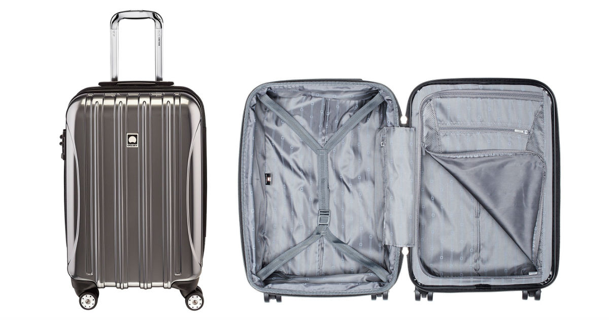 Save 47% on Hard Case Suitcase...