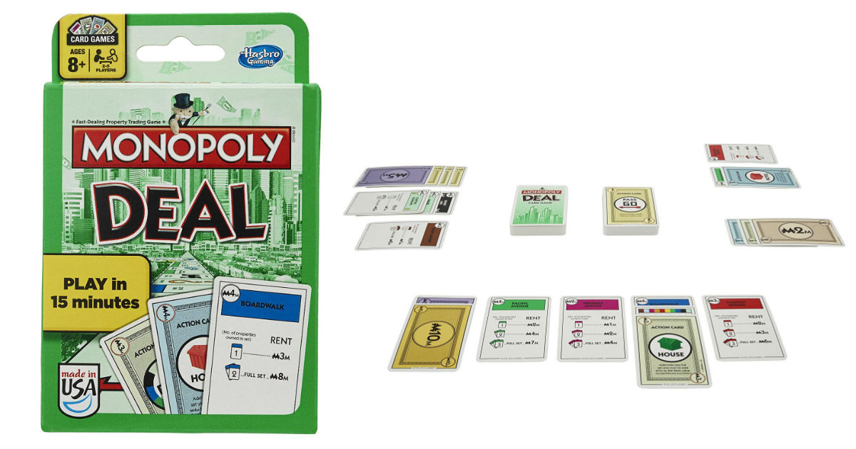 Save 50% on Monopoly Card Game...