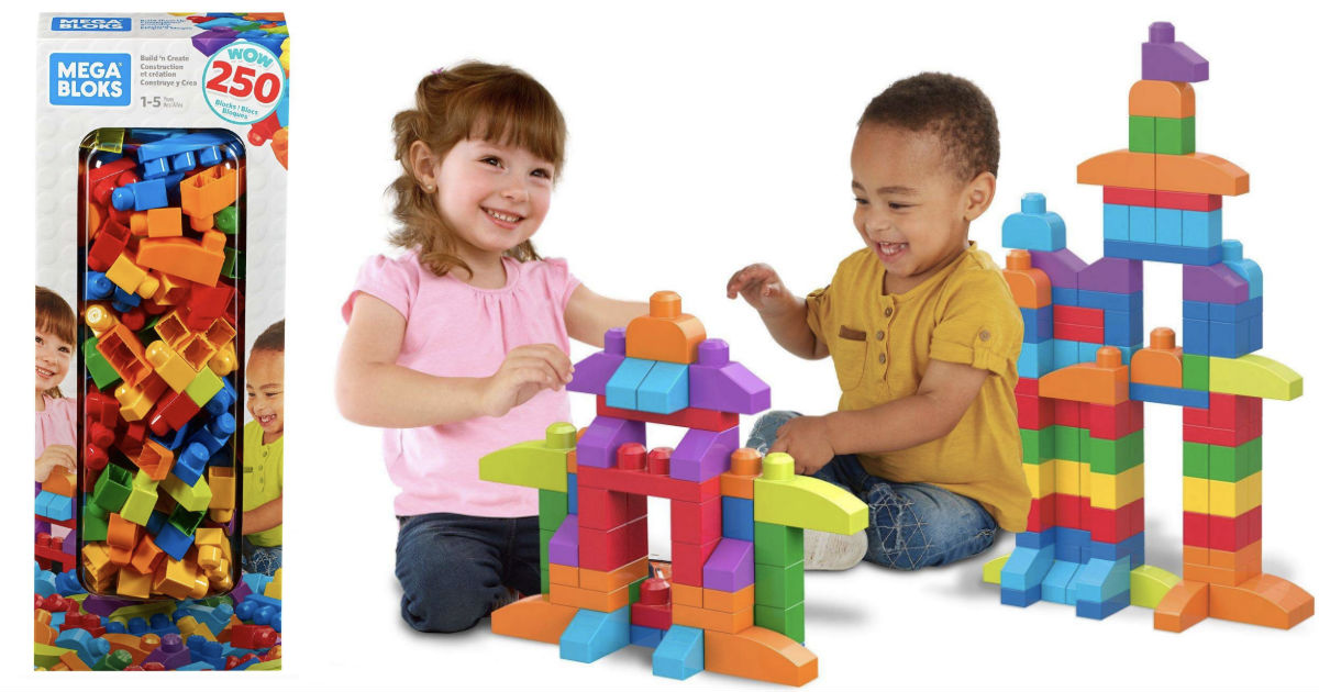 Mega Bloks Big Builders Block Set ONLY $20 (Reg $50) at Walmart