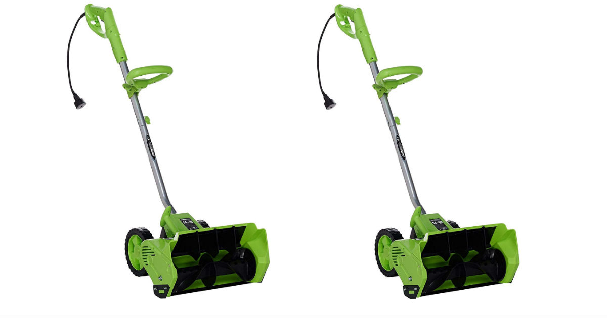 Save 55% on Earthwise Snow Shovel ONLY $ 49.99 (Reg. $110)