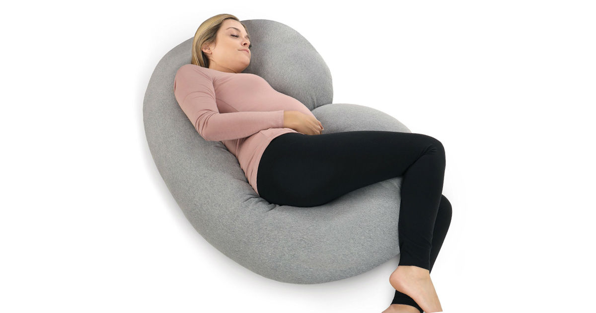 Save 61% on PharMeDoc Pregnancy Pillow ONLY $42.95 (Reg. $110)
