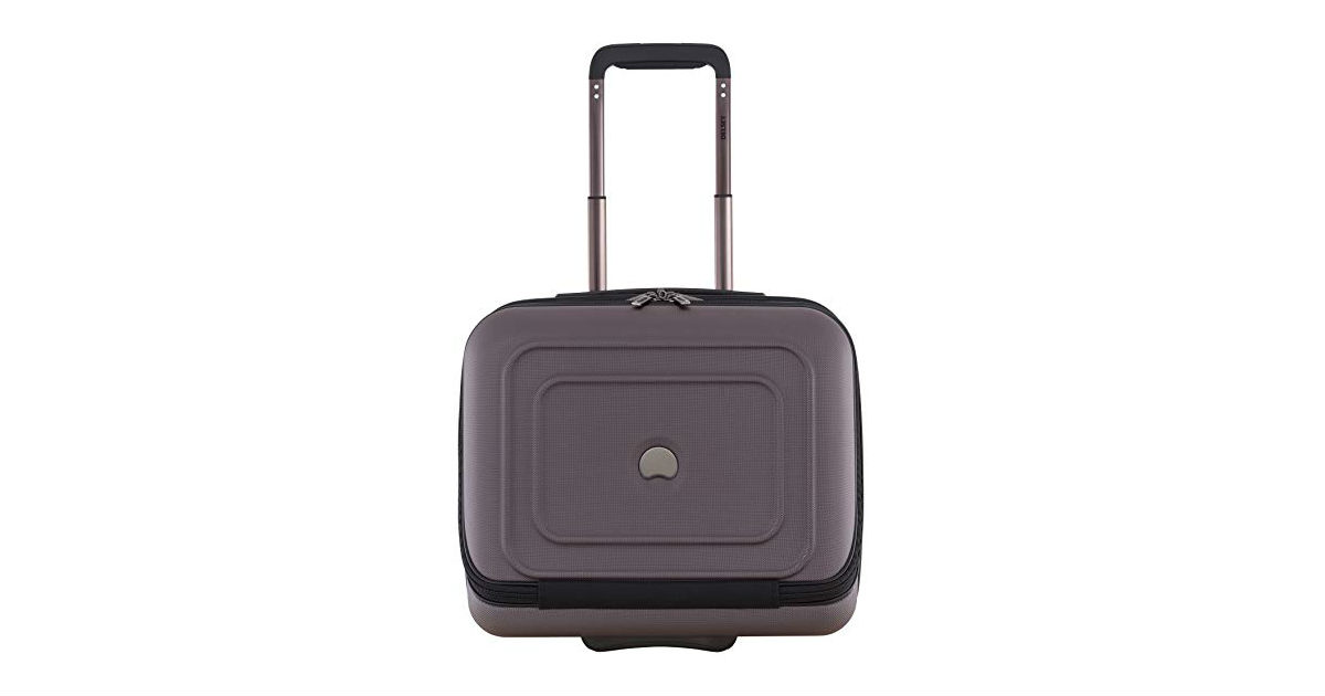 Save 50% on Delsey Under Seat Luggage ONLY $49.99 (Reg. $100)