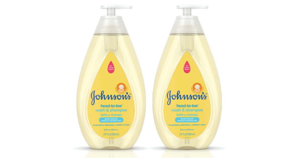 Johnson's Baby Wash ONLY $1.92 at Walmart