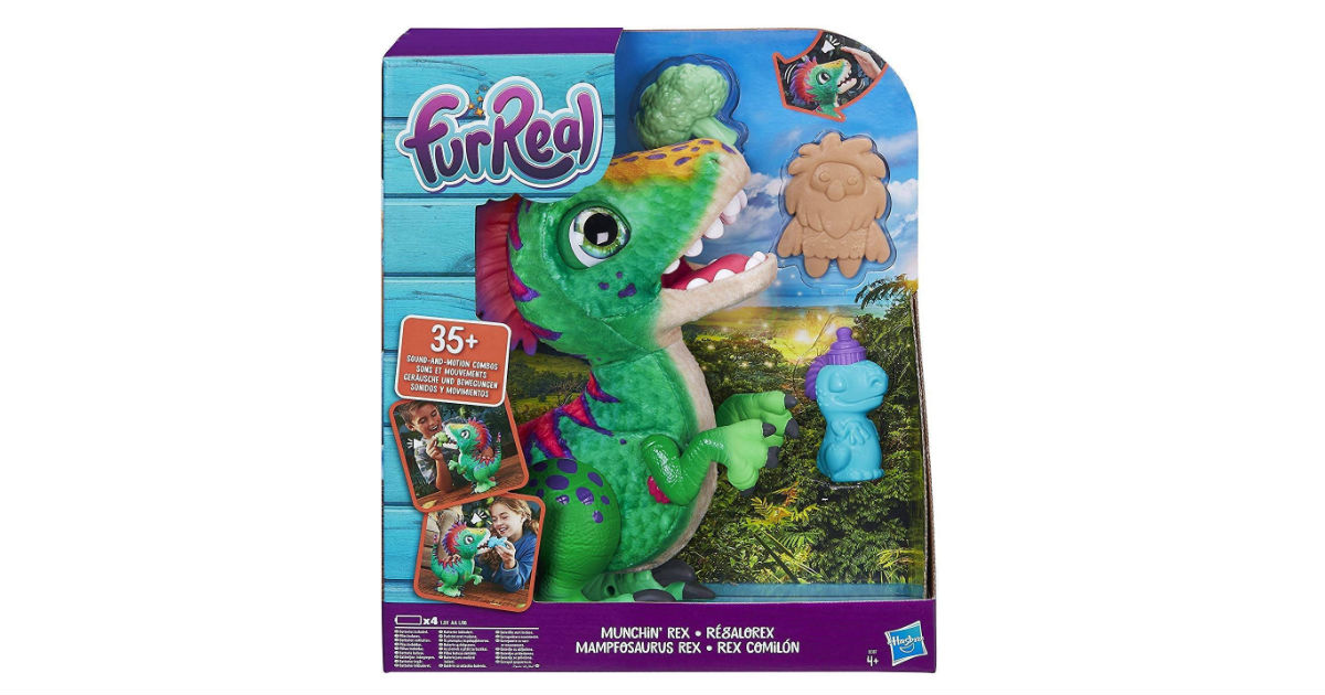 FurReal Munchin Rex ONLY $38.77 on Amazon (Reg. $50)