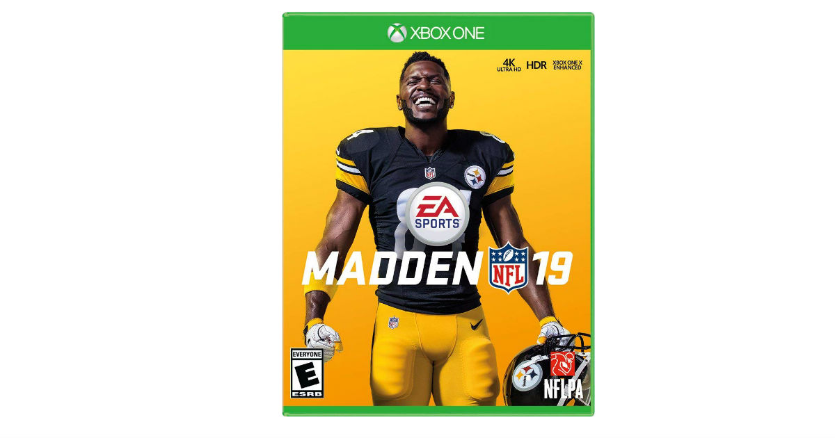 Save 54% on Madden NFL 19 ONLY...