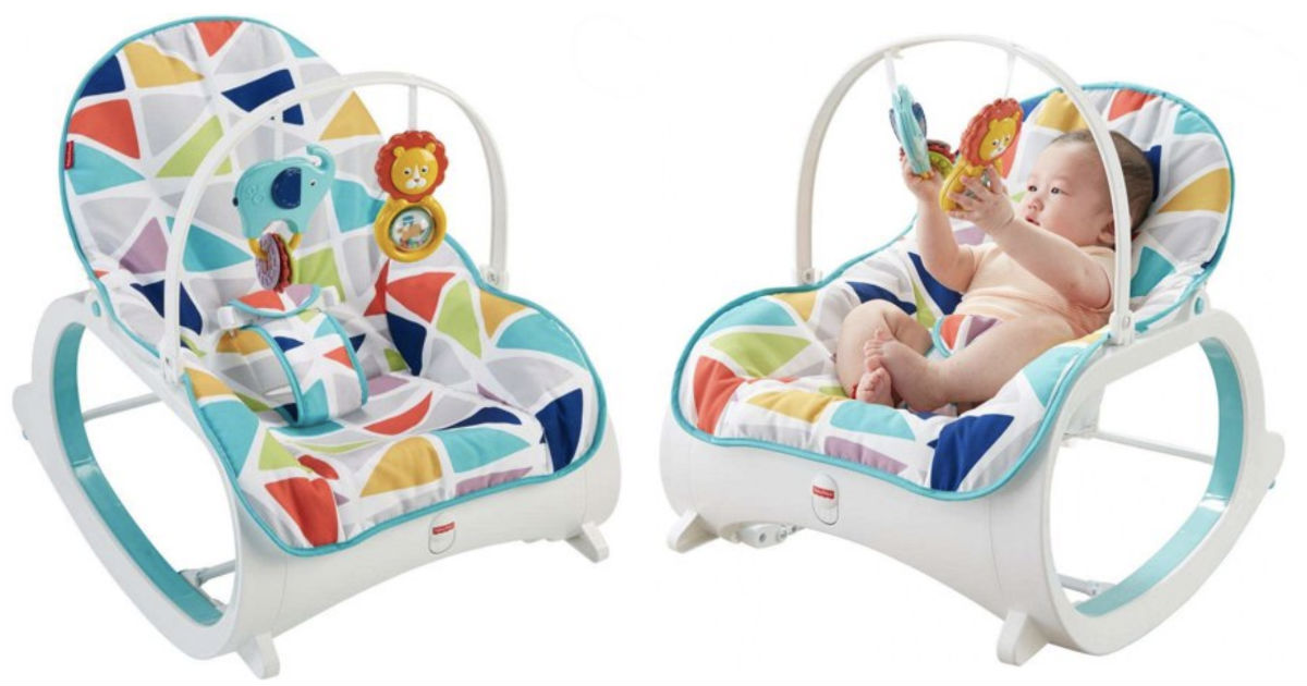 Fisher-Price Infant-to-Toddler Rocker ONLY $25 (Reg $45)