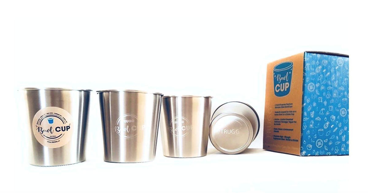 Stainless Steel Cups on Amazon