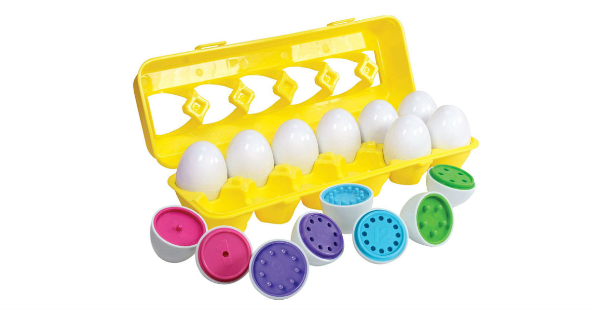 Kidzlane Egg Set Learning Toy ONLY $14.99 on Amazon (Reg. $25)