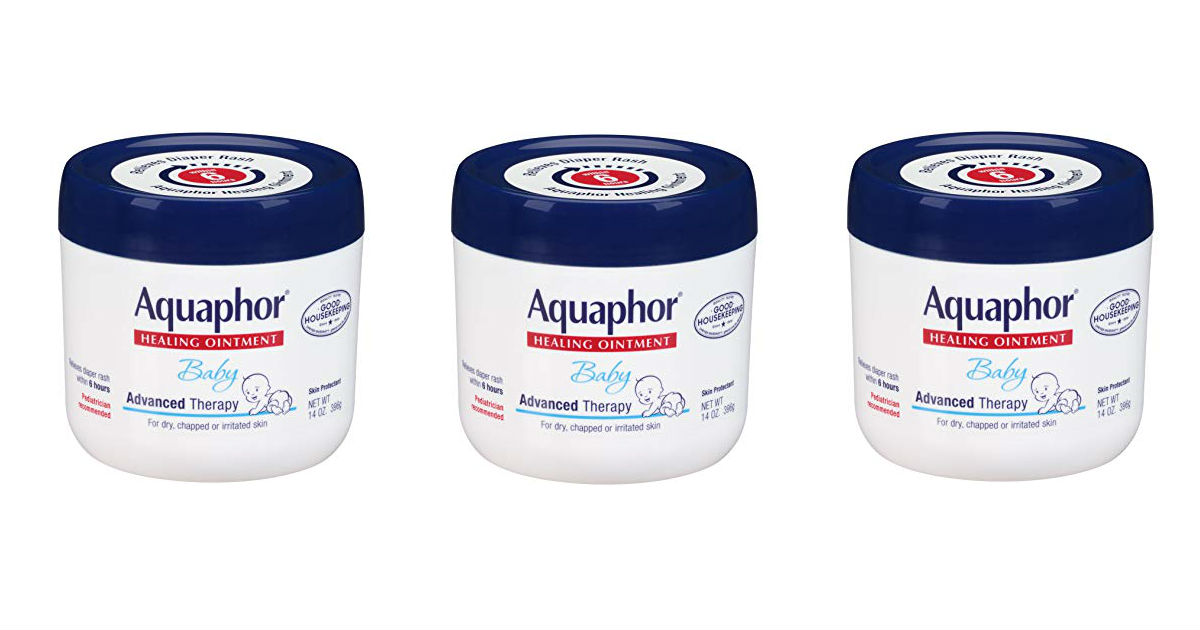 Aquaphor Baby Healing Ointment ONLY $9.08 Shipped