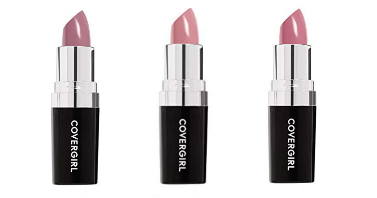 Covergirl Continuous Color Lipstick ONLY $2.69 Shipped on Amazon